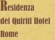 Residenza dei Quiriti Hotel Rome